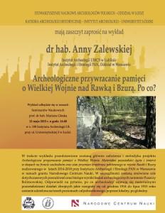 Zalewska Anna Łódź wykład